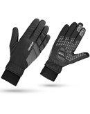 Grip Grap Cykelhandske Ride Windproof Winter sort Unisex