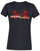 Under Armour T-shirt Tech Tech Graphic Sort Dame