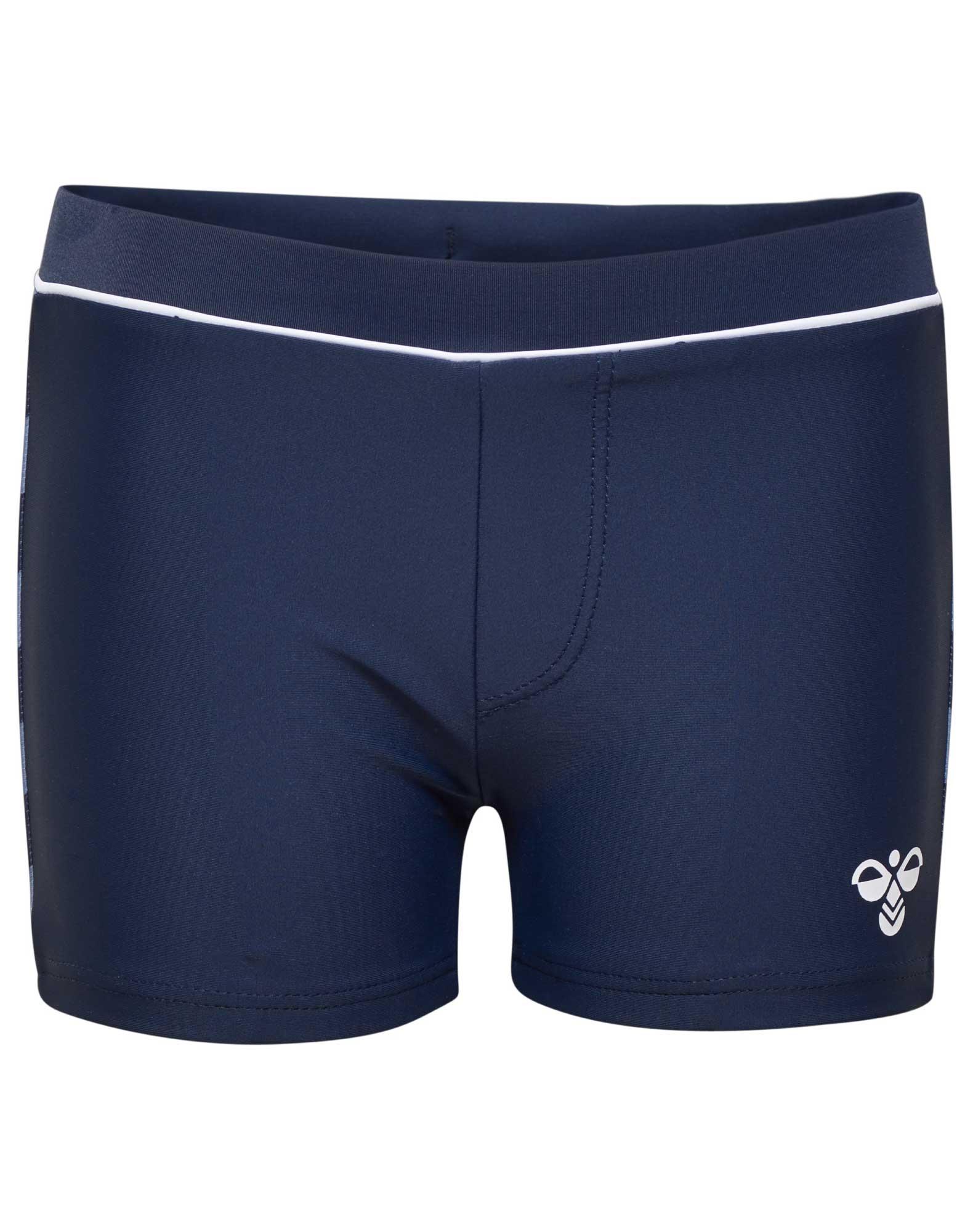 acd8801e262 Hummel Joss Swim Shorts Badebukser Navy Drenge