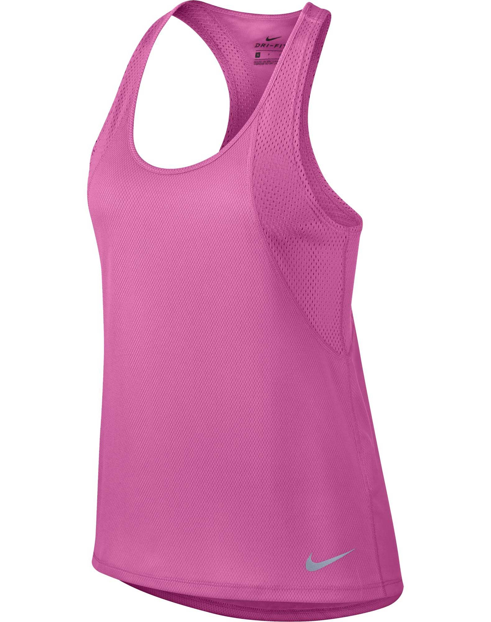 d9f53cc3d32 Nike Women's Running Tank tank-top til dame i pink