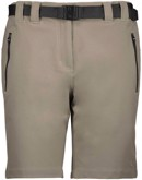 CMP 4-Way Stretch Bermuda Shorts Sand Dame