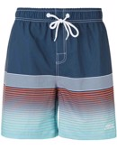 Cruz Tripura Printed Boardshorts Badebukser Navy-Orange-Turkis Herre