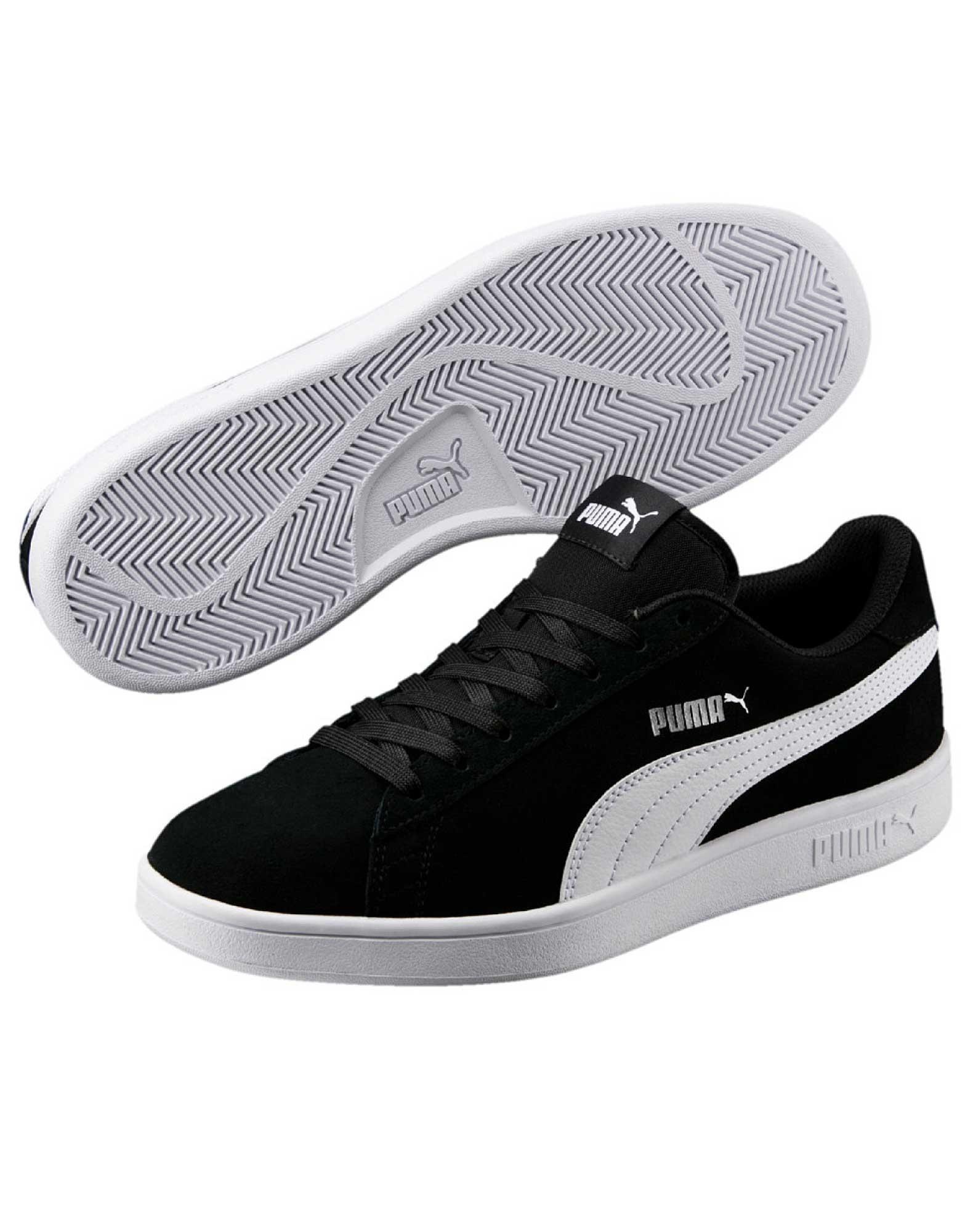 8573a1163c98 Køb Puma Sneakers Smash v2 Sort-Hvid Unisex online