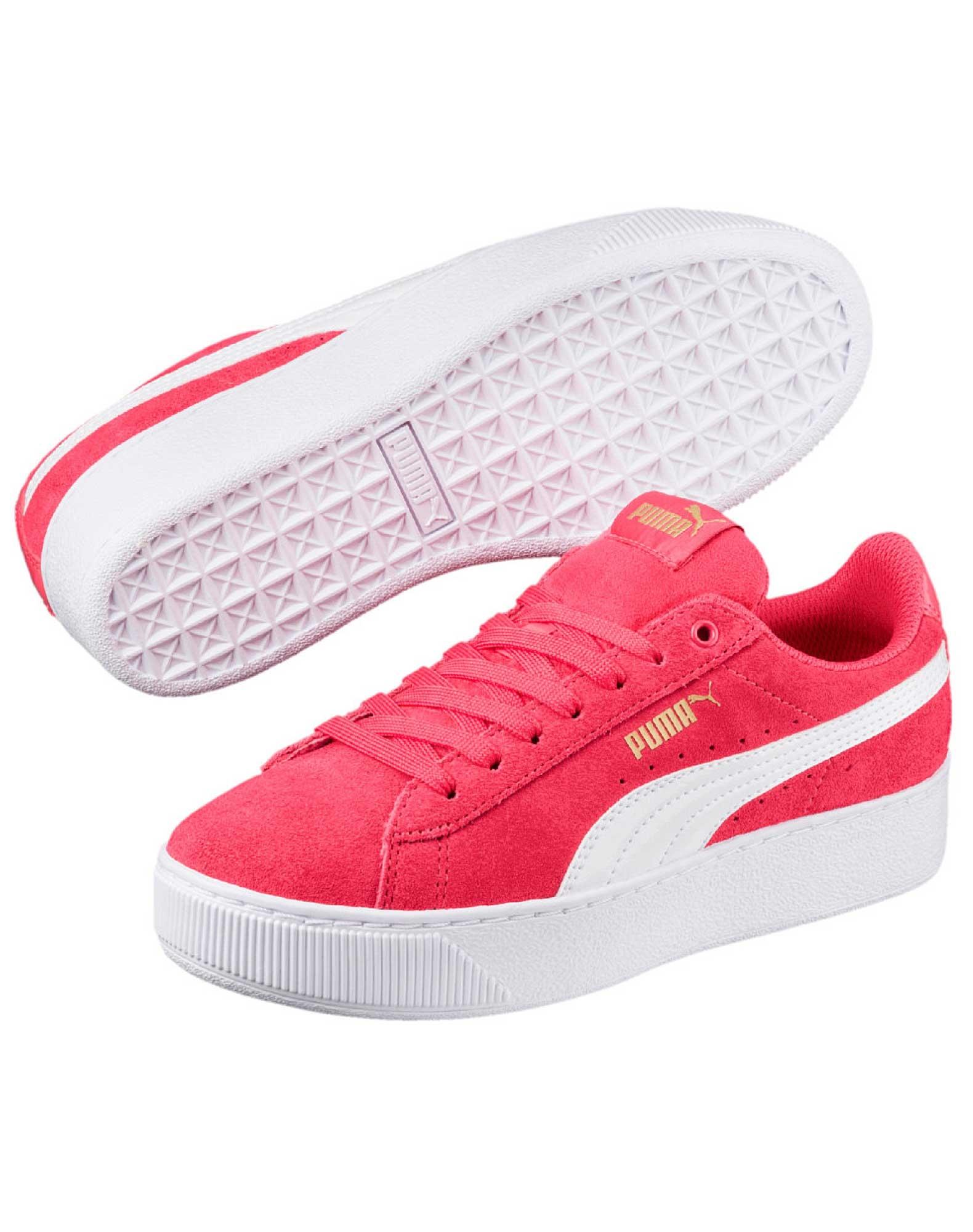 Køb Platform Pige Ac Pink Sneakers Puma Ps Vikky Online vwmOyN80Pn