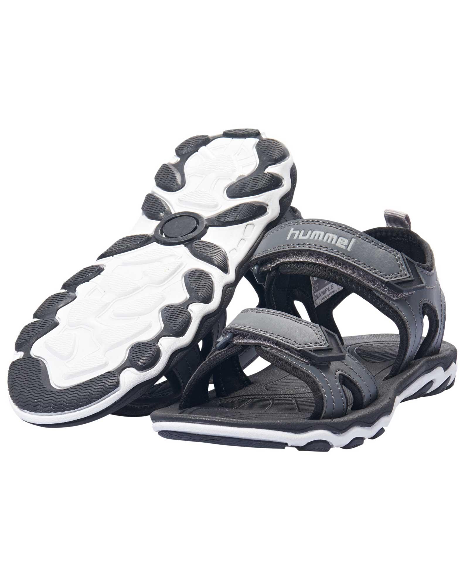 70b04acd067 Køb Hummel Sandal Sandal Sport Jr Sort-grå Børn online