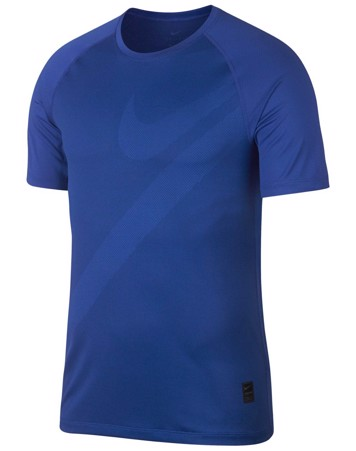 Nike T-shirt Pro Men\'s Short Sleeve Blå Herre