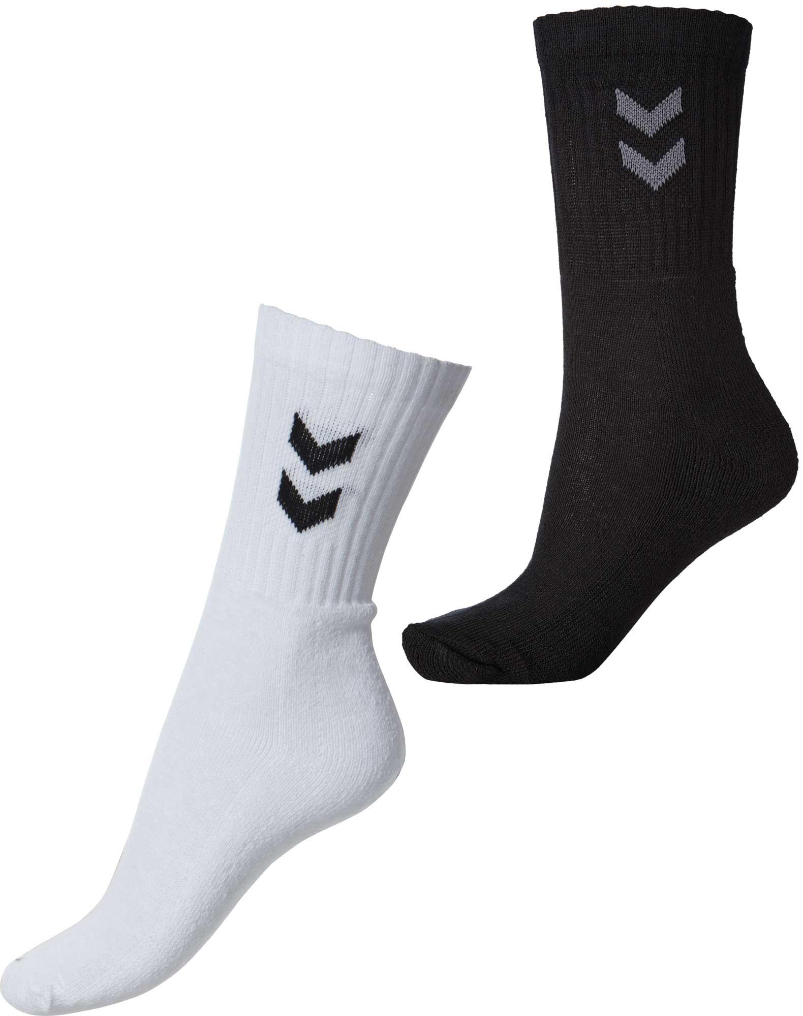 e0fd8768 Tilbud på kvalitets sokker fra Hummel, sort og hvid